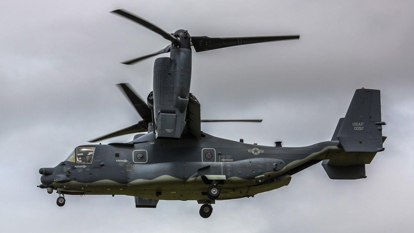 Download wallpaper bell v-22, osprey, transport, the convertiplane