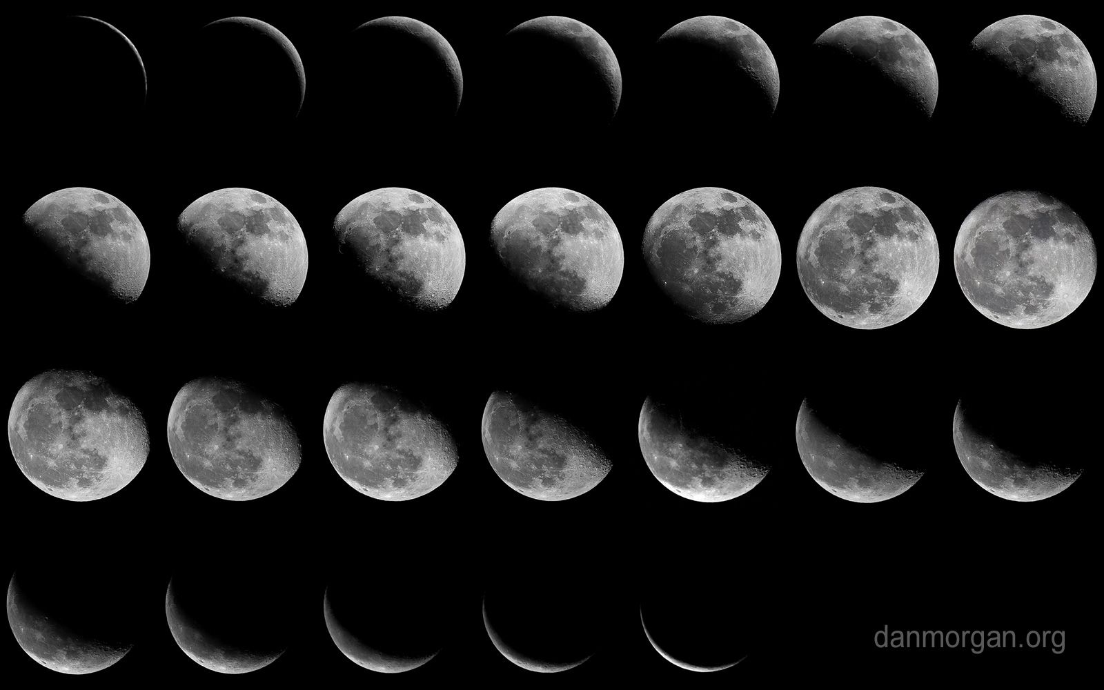 Moon Phases Tumblr Black And White | www.galleryhip.com - The Hippest ...
