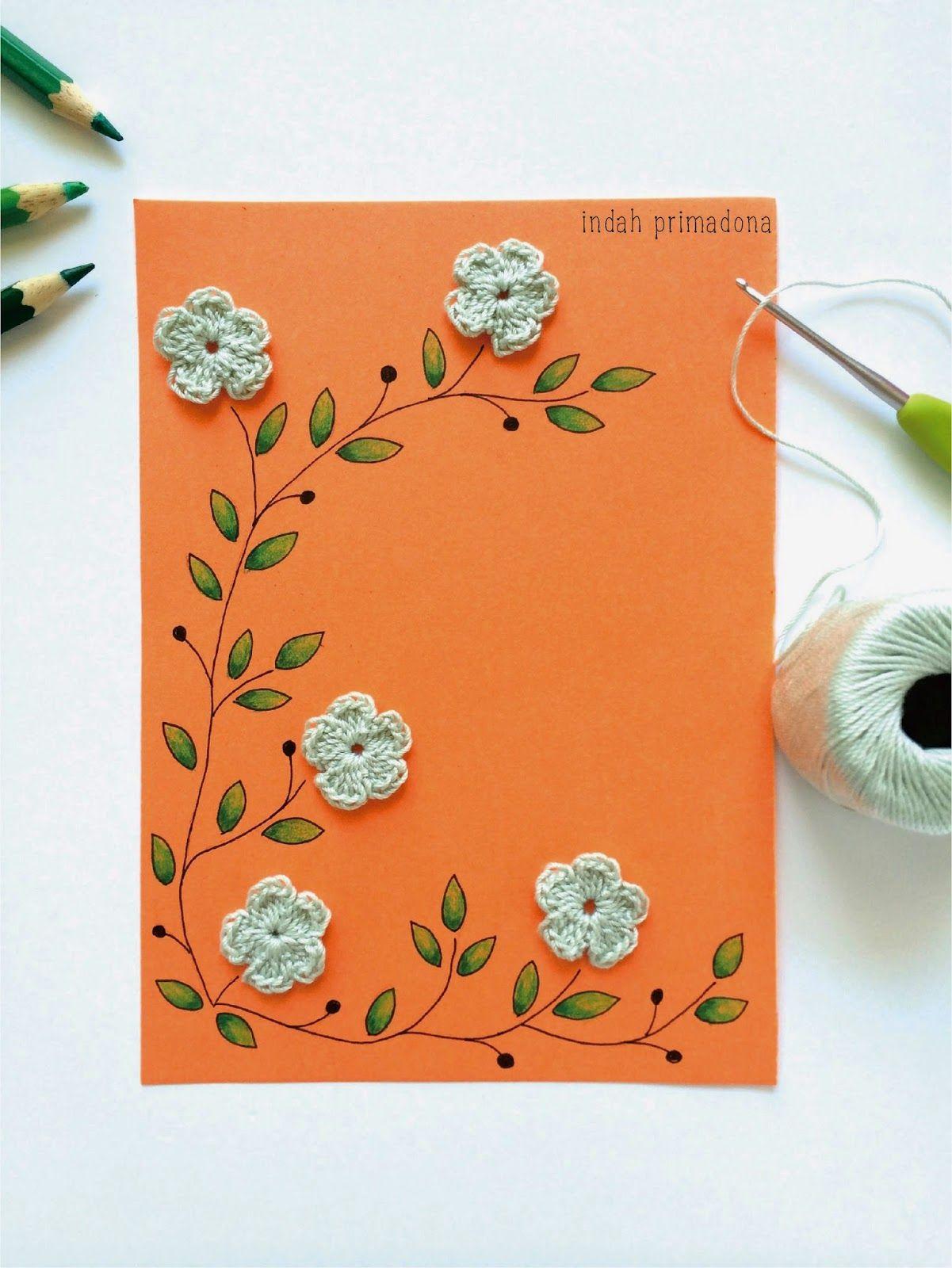Craftmee: Crochet Flower Drawing