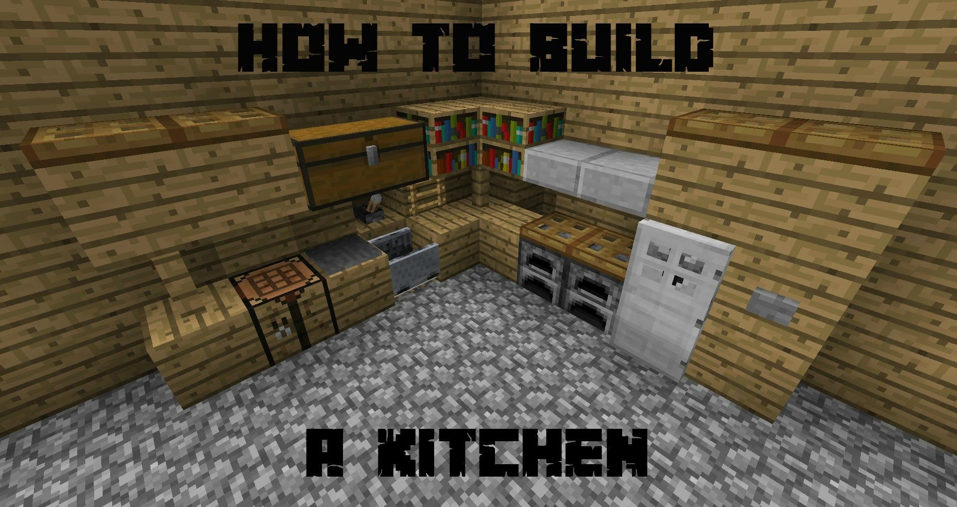 How Build Kitchen Minecraft Youtube Best Ideas About