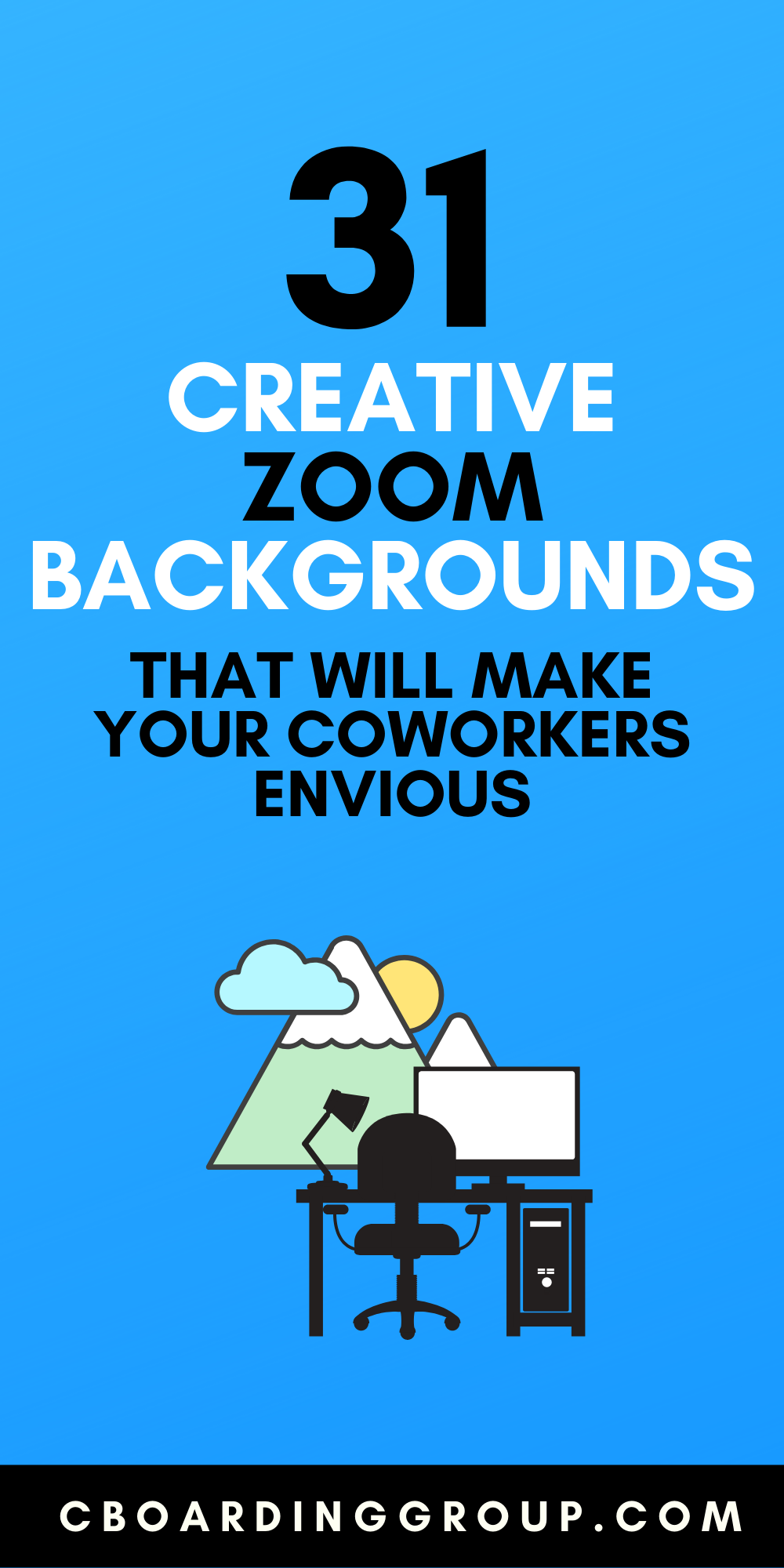 5 Funny Zoom Backgrounds your coworkers will be drooling over