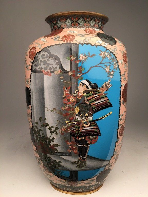 A rare and important circa 1880 Japanese cloisonne