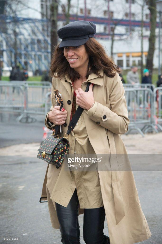 freelance stylist fashion editor viviana volpicella waers a balnciage trench coat on day 2 during - Freelance Stylist
