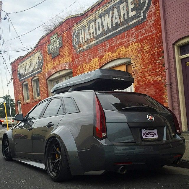 Cadillac Cts V Wagon For Sale: Maybe This Will Be My Ski Hill Transport Some Day