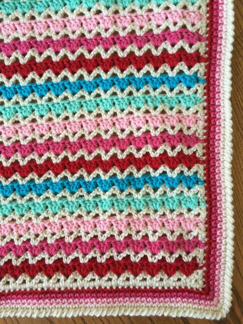 Skein and Hook: Free Crochet Pattern: Wylie Baby Blanket | Crochet ...