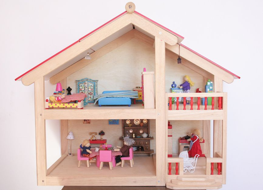 Casitas de mu ecas de madera buscar con google juguetes pinterest casitas de mu ecas - Munecos para casa de munecas ...
