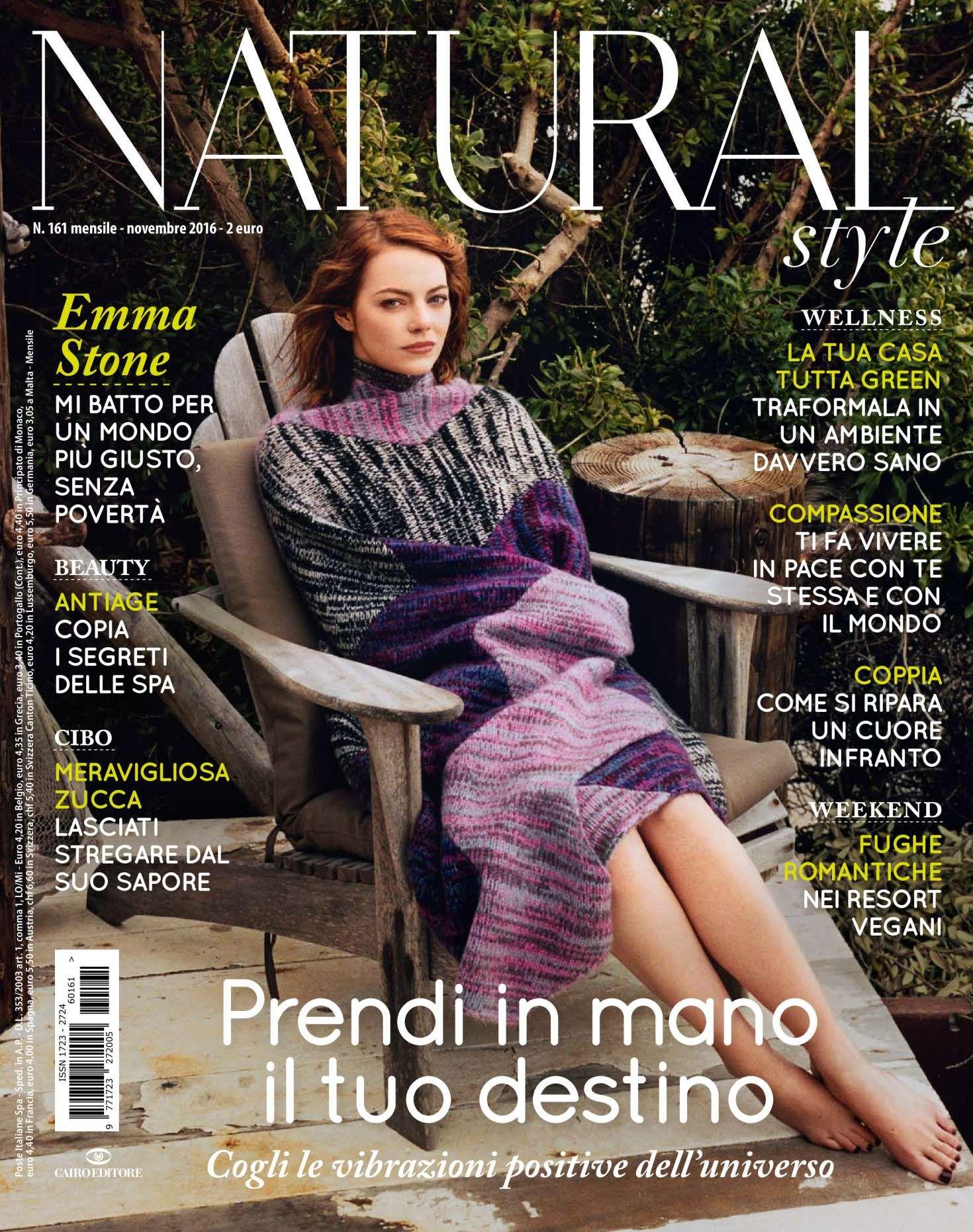 Emma Stone – Natural Style Magazine (November 2016)
