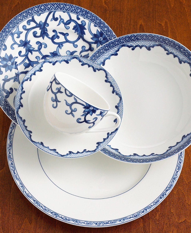 Ralph Lauren Mandarin Blue Dinnerware