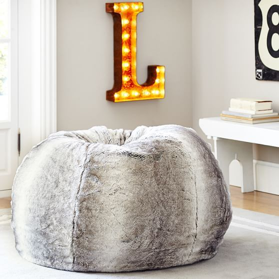 Find Bean Bag Chairs In A Variety Of Cozy Covers And Create A Cool And  Comfy Lounge Space. From Fur To Fringe, PBteenu0027s Beanbags Give The Room A  Fresh New ... Nice Ideas