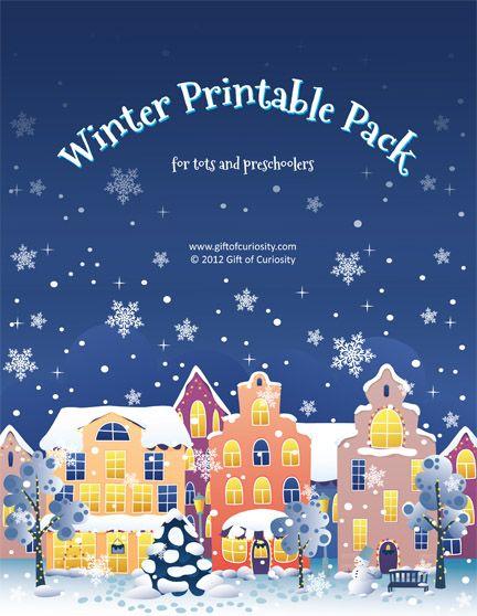 Winter Printable Pack