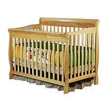 Dream On Me Ashton Convertible 4 In 1 Crib Natural Convertible Crib Cribs Dream On Me
