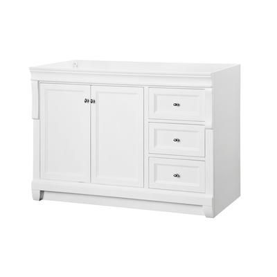 Foremost International   Naples White 48 Inch Vanity   NAWA4821D   Home  Depot Canada   ONLY. Foremost International   Naples White 48 Inch Vanity   NAWA4821D