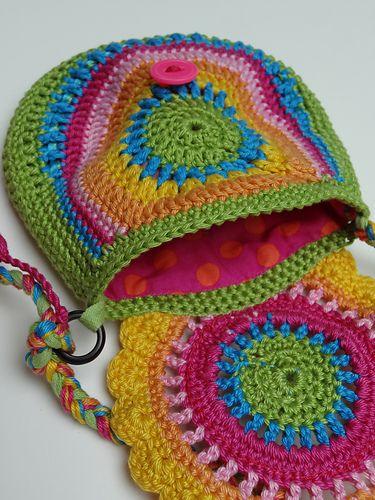 jankee's rainbow purse