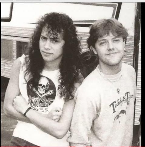 Lars Ulrich Kirk Metallica Metallica Kirk Hammett
