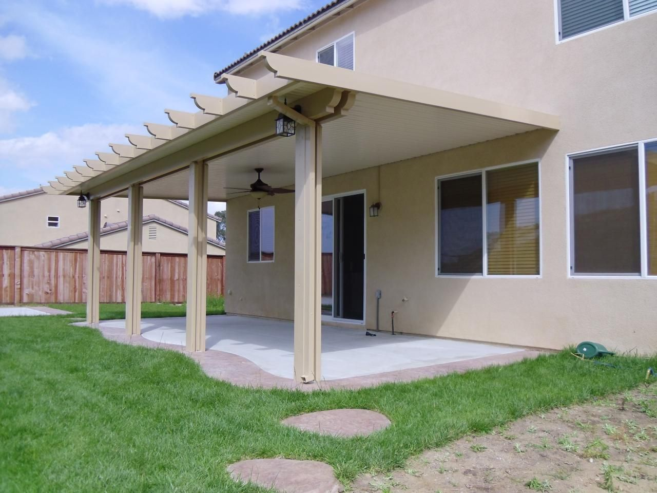 Southern California Patios   Solid Patio Cover Gallery 2