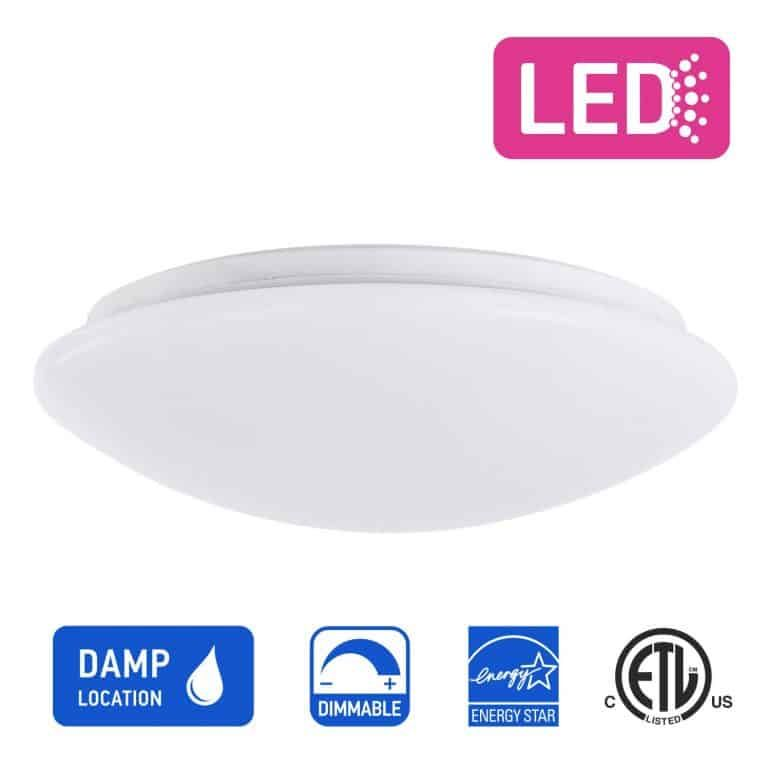 Ostwin 11 Inch Ms Series Led Ceiling Light Led Flush Mount Led Bedroom Ceiling Lights Flush Mount Ceiling Lights
