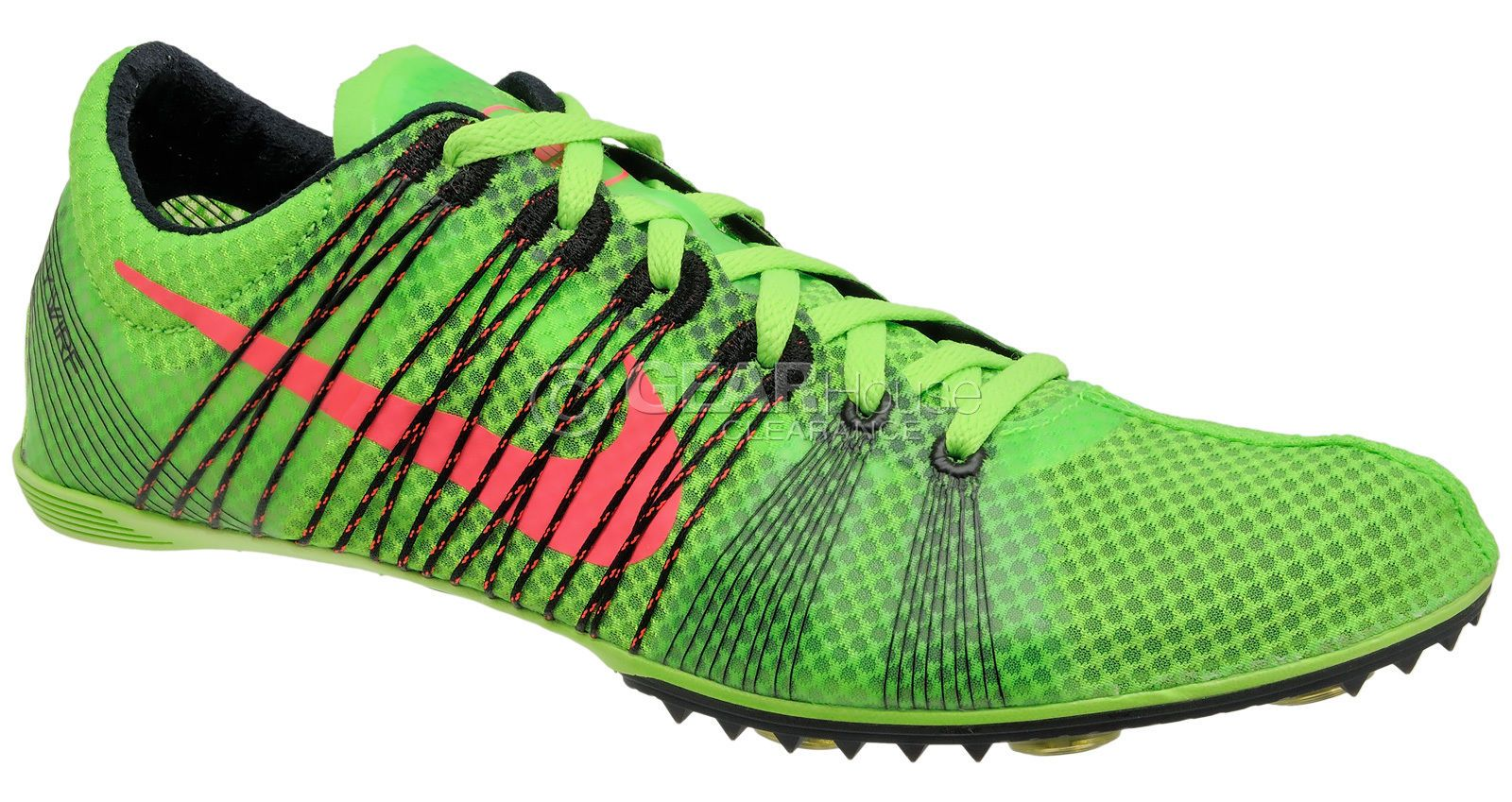 New $120 Nike Zoom Victory 2 Mens Track Spikes Mid Distance Shoes Green :  Size 8