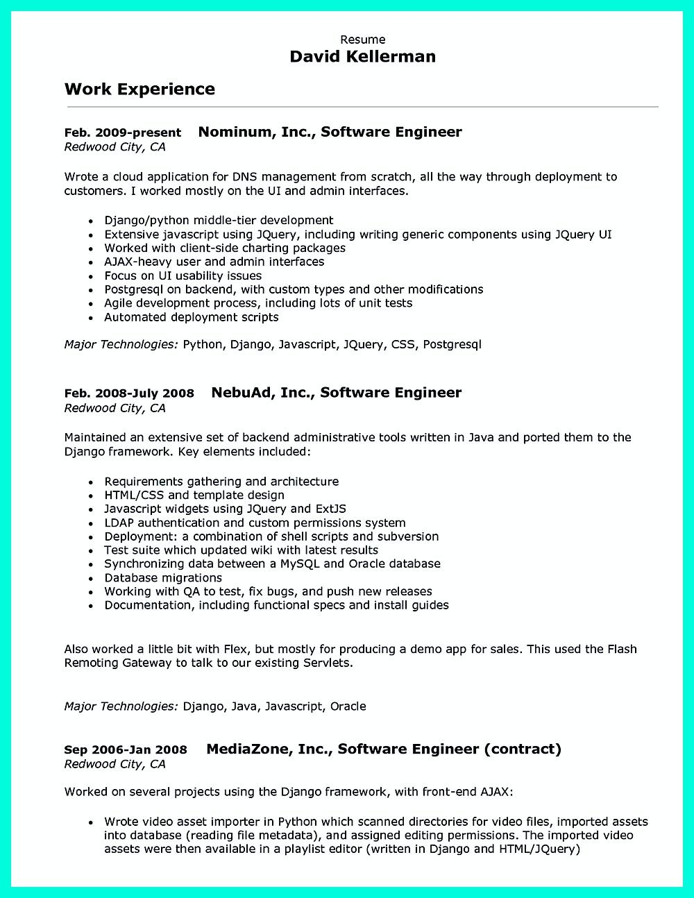 computer programmer resume examples impress employers how format - Computer Programmer Resume Examples