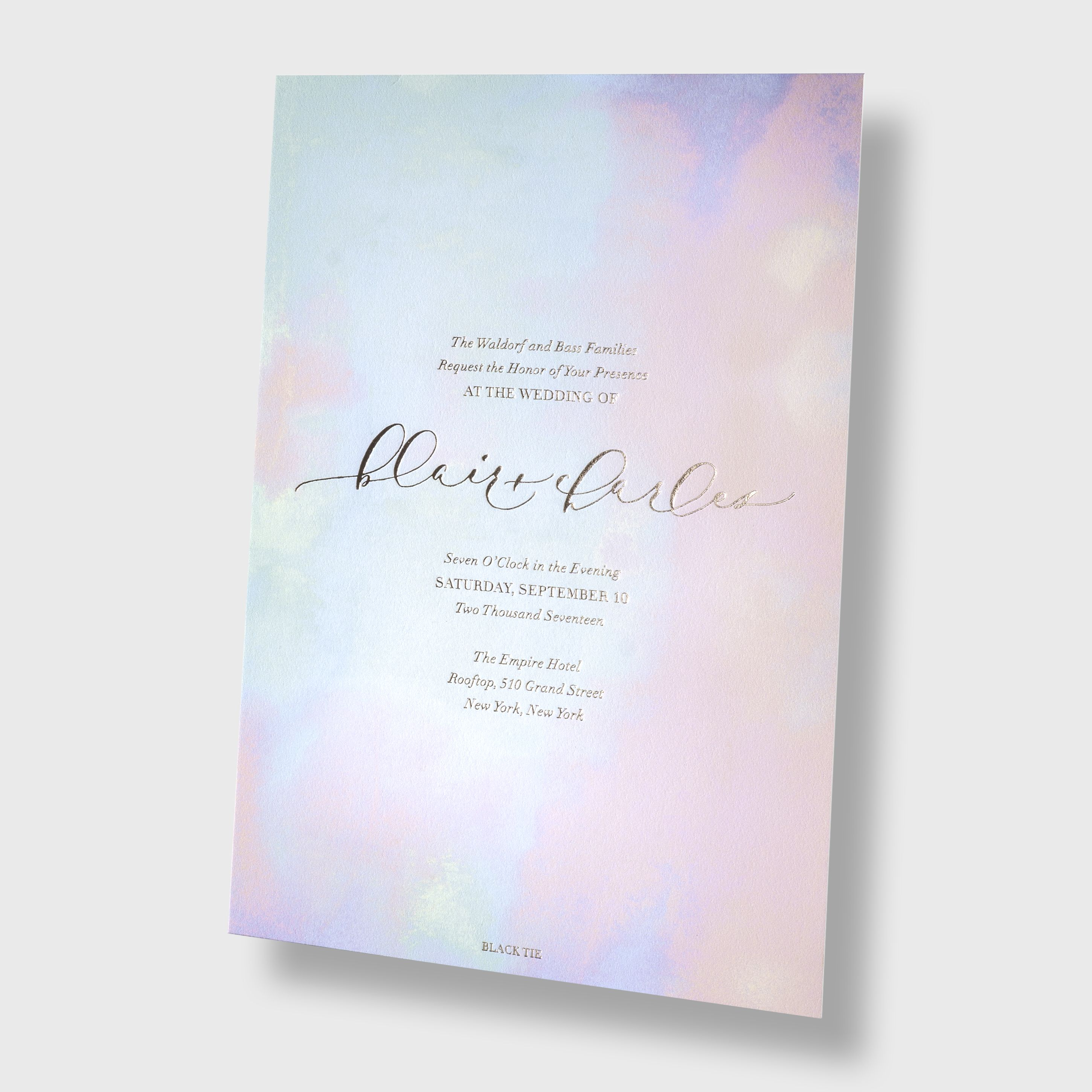 Bliss Bone Design Your Own Wedding Invitation Or Save