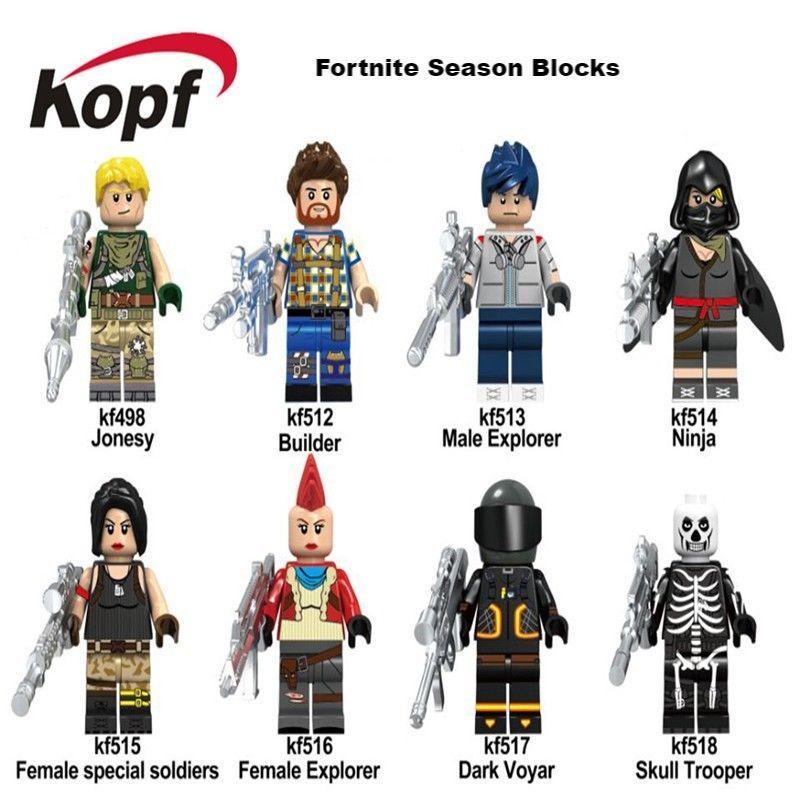 Fortnite Season 5 Set Mini Figure Toys Set Of 8 Toys Figure
