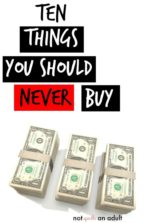 10 Things To STOP Buying to Save Your Money   Budgeting ...