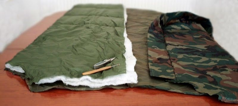 Hammock Underquilt Camo Collection
