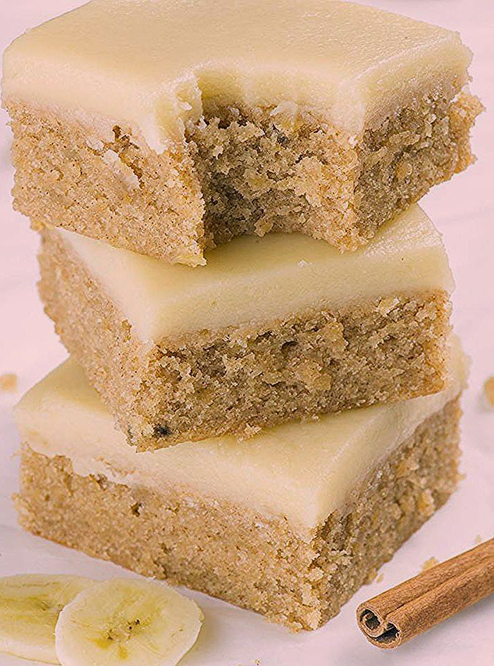 Photo of Banana Bread Blondies