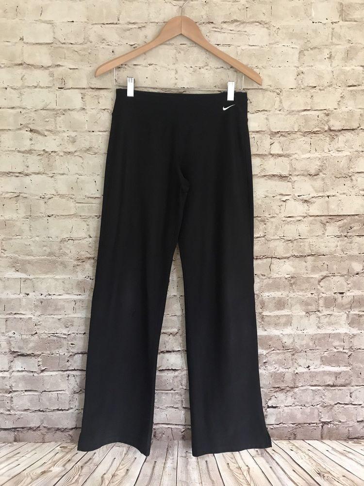 Nike drifit yoga pants size small tall st black stretch