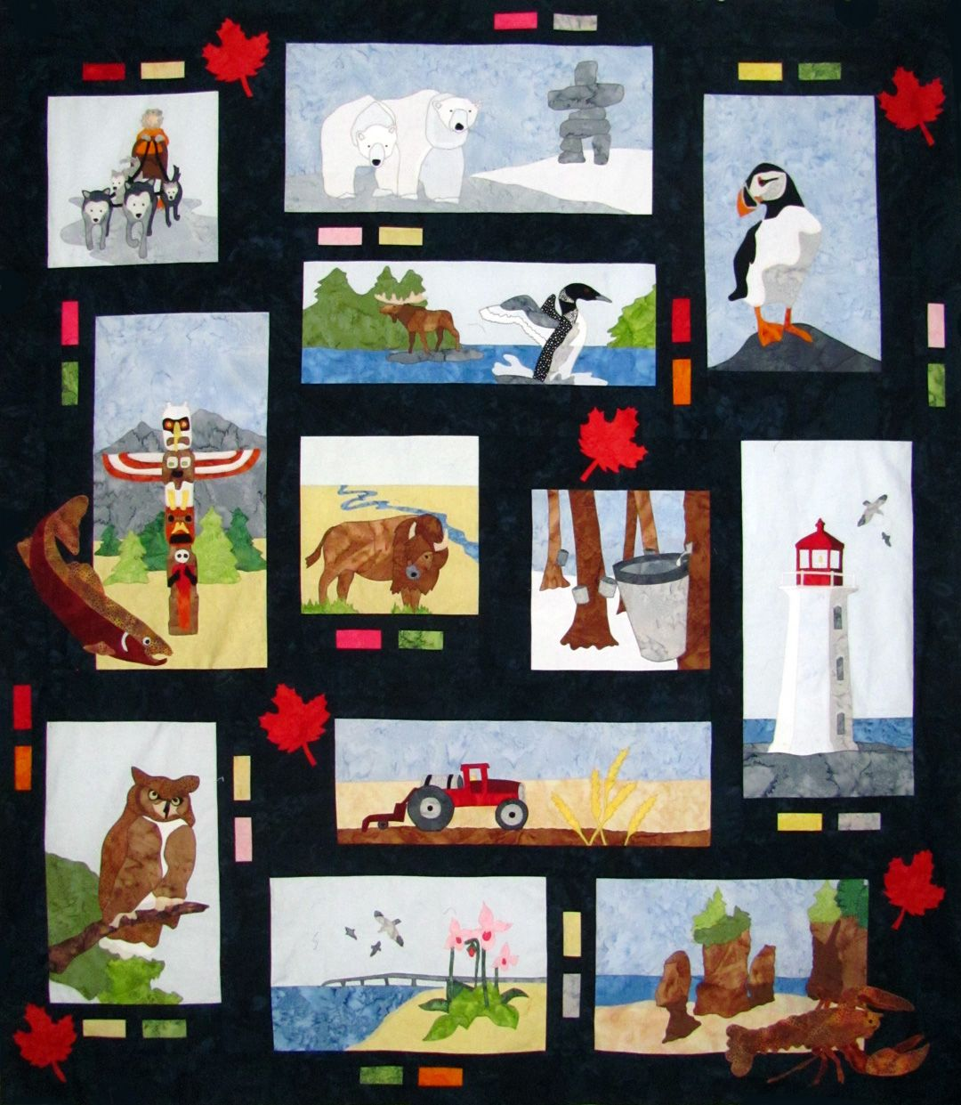 Canada 150 Small Home Designs: This Is Canada A Quilt To Commemorate Canada's 150th In