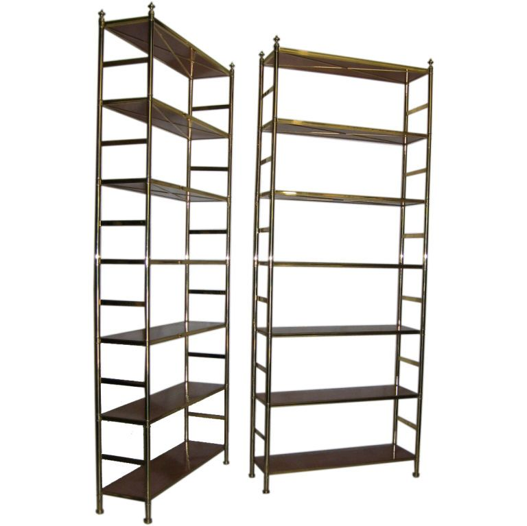 Pair Billy Baldwin Cole Porter Etageres With Images Bookcase