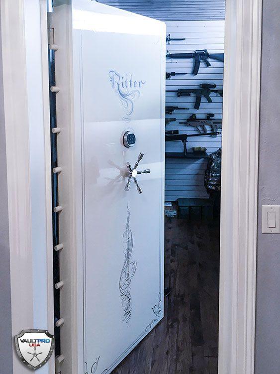Vault pro custom elite series in swinging hinged vault for Custom safe rooms