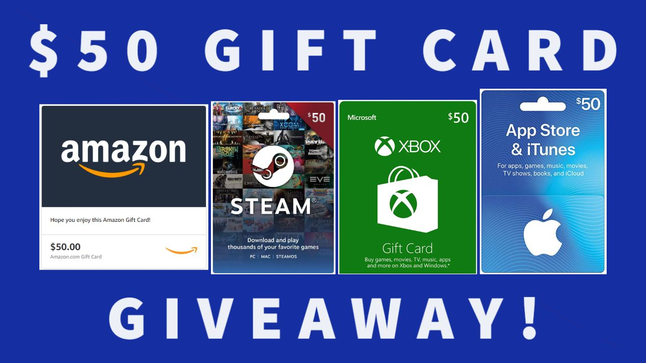 Win a 50 Gift Card of Your Choice in 2020 Gift card