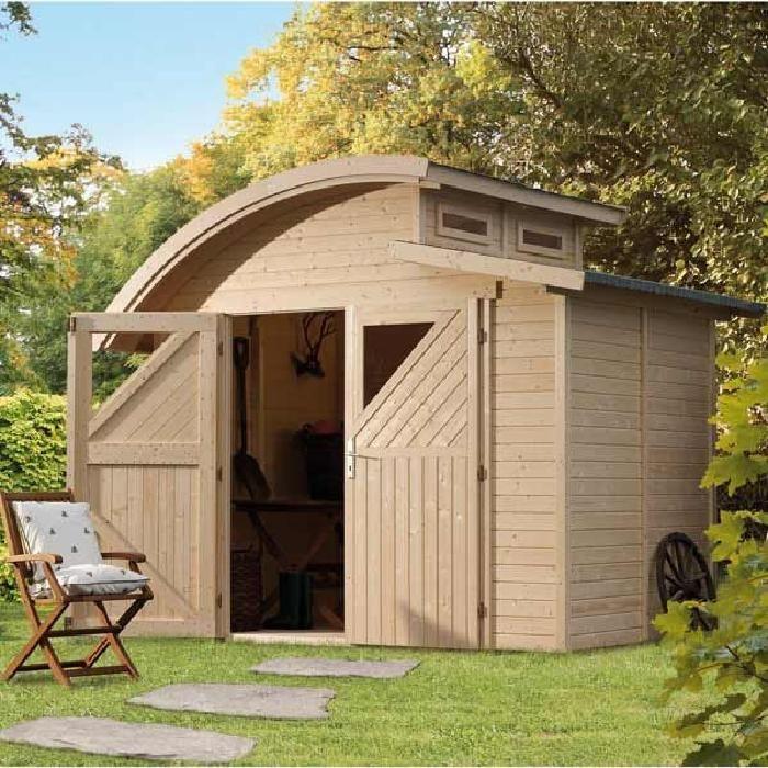 Nice Cabanon De Jardin Brico Depot #13: Abri-de-jardin-moderne-en ...