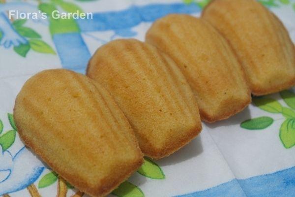 簡單美味的蜂蜜瑪德蓮Madeleine