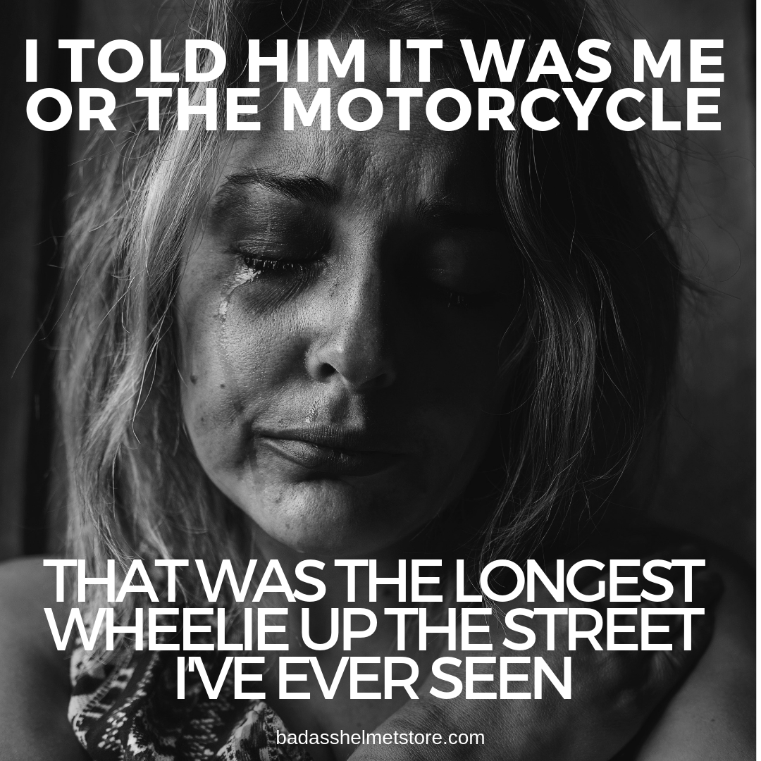 29 Funny Motorcycle Memes, Quotes, & Sayings // BAHS | Funny motorcycle  memes, Motorcycle quotes funny, Motorcycle memes