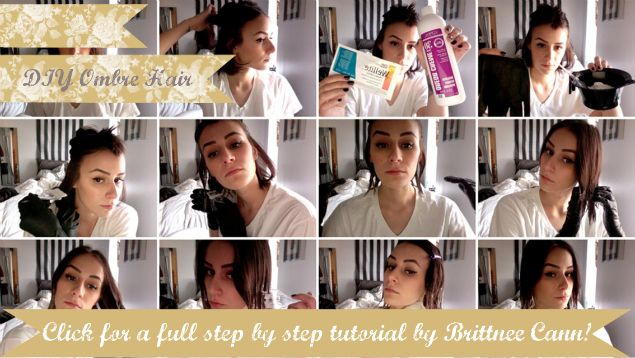 Style Ten Cute Homemade Hair Dos Oh The Lovely Things Diy Ombre