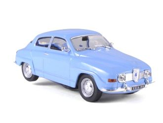 Saab 96 Diecast Model Car by Whitebox WHI029 This Saab 96 Diecast Model Car is Blue and features working wheels. It is made by Whitebox and is 1:43 scale (approx. 9cm / 3.5in long). #Whitebox #ModelCar #Saab