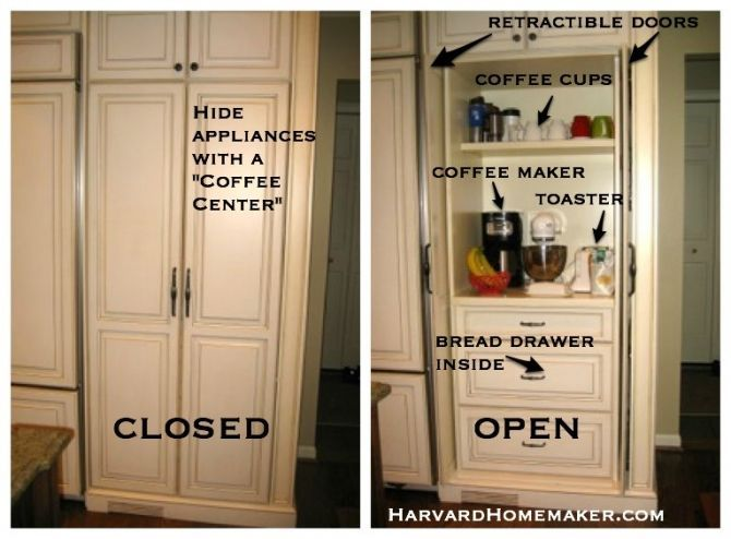 100 Ideas To Help Organize Your Home And Your Life I Love This Idea To Make A Place Where You Schrank Ideen Kuchenschrank Organisation Schrank Organisation