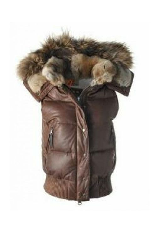 parajumpers leather woman