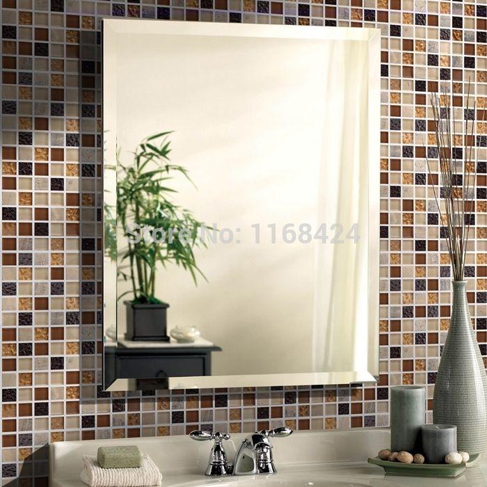 Color ahumado marrón cristal de mosaico de cristal cuadrado ...
