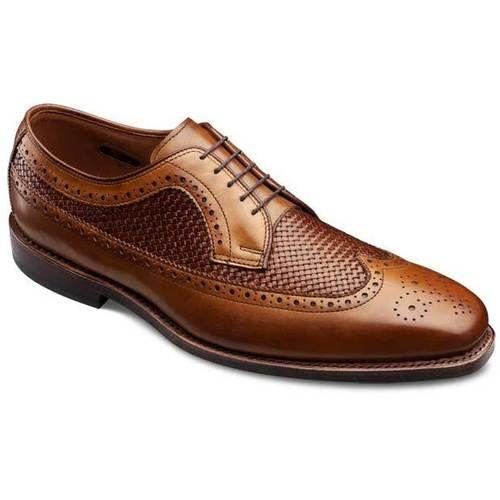 Boca Raton - Long Wingtip Lace-up Oxford Men's Dress Shoes by Allen Edmonds  Walnut Burnished Calf