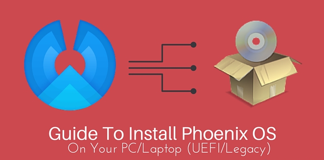 How to install phoenix OS in Dual Boot Mode in Window