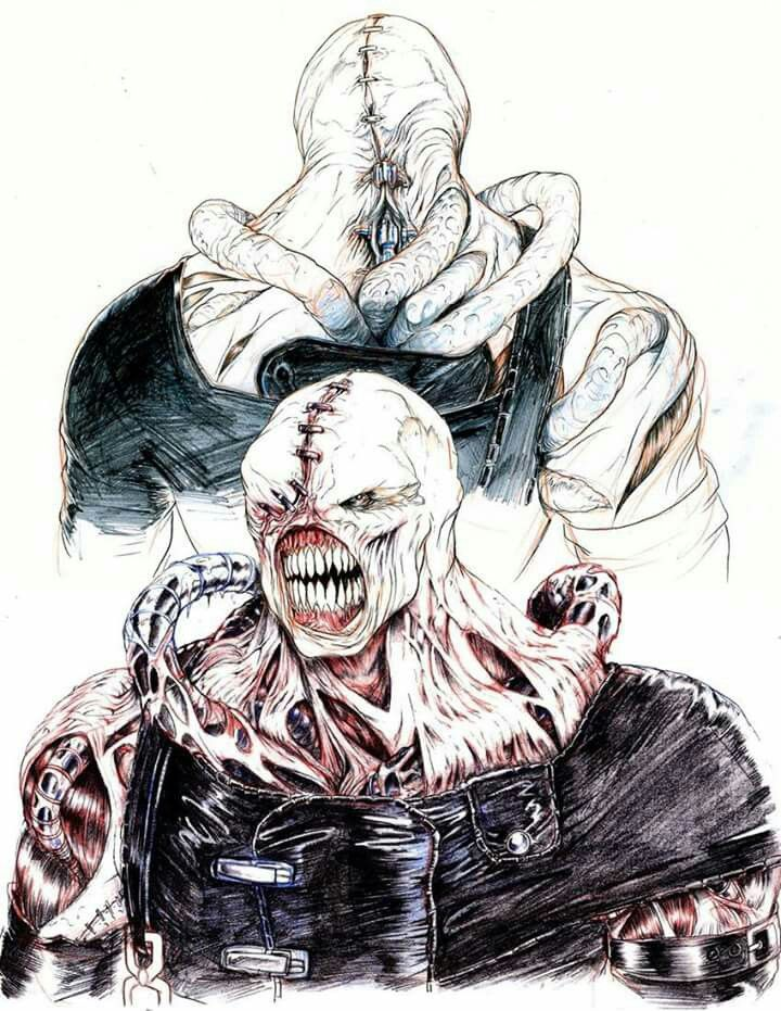 Nemesis Drawn By Storyboard Artist Rob Mccallum Art For The Movie
