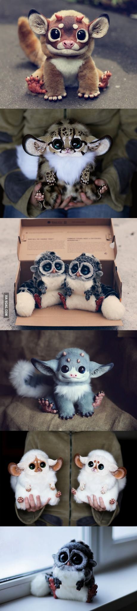Ultra-realistic fantasy dolls made by Santani, a 23-year-old girl from Moscow, Russia. I must have one.