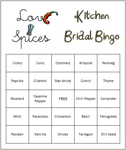 Kitchen Bridal Shower Ideas If you are looking for no cook