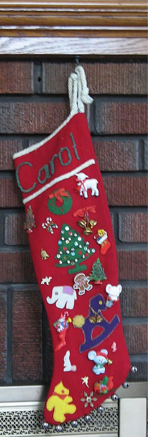 Christmas Stocking Handmade 1940 S Traditional Things To Put In Stockings On Eve Include An Orange Or Tangerine Chocolate Coins A Little
