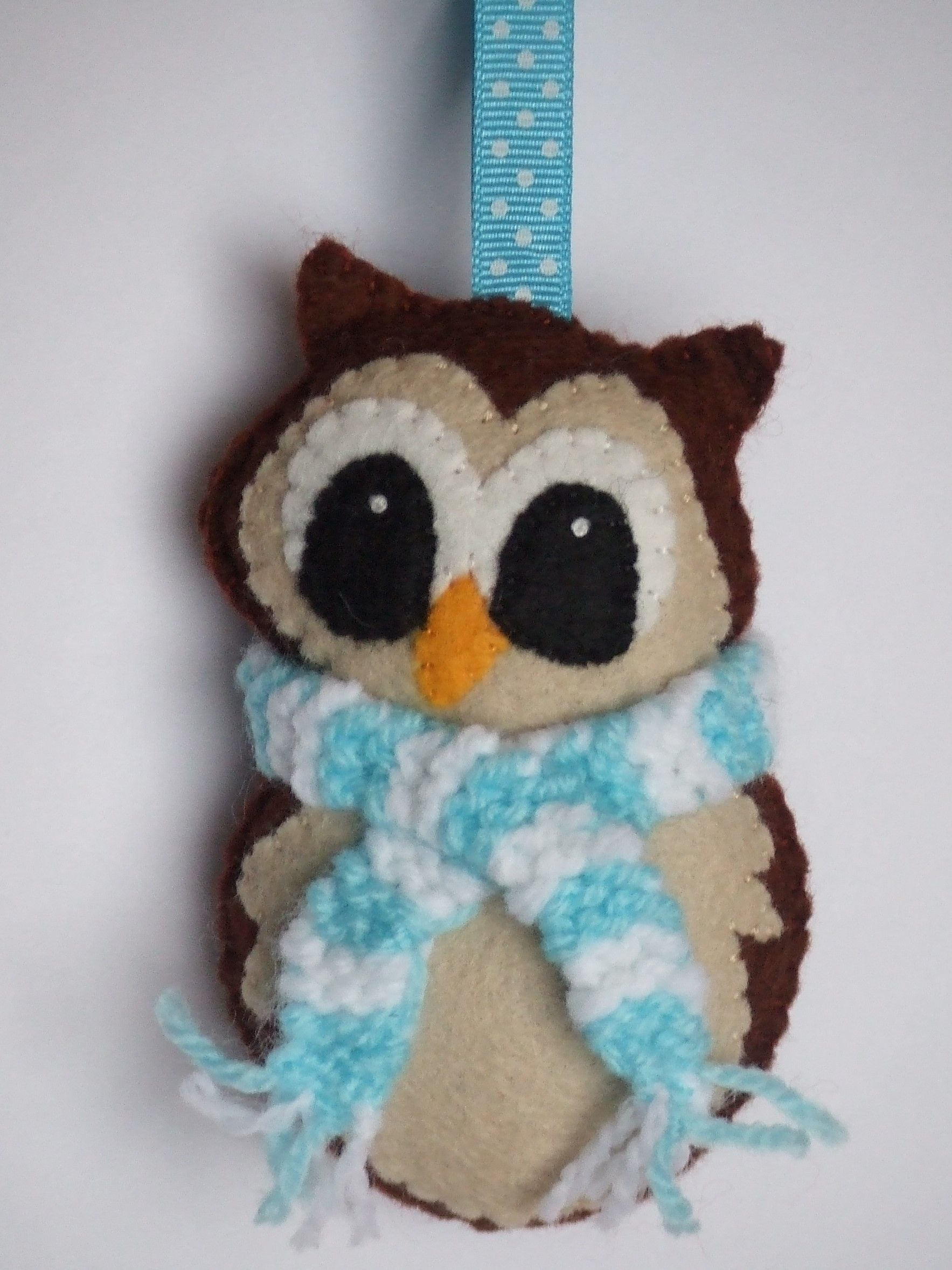 Felt Owl Christmas Decoration Wwwfacebookcomthecraftyweehenscouk