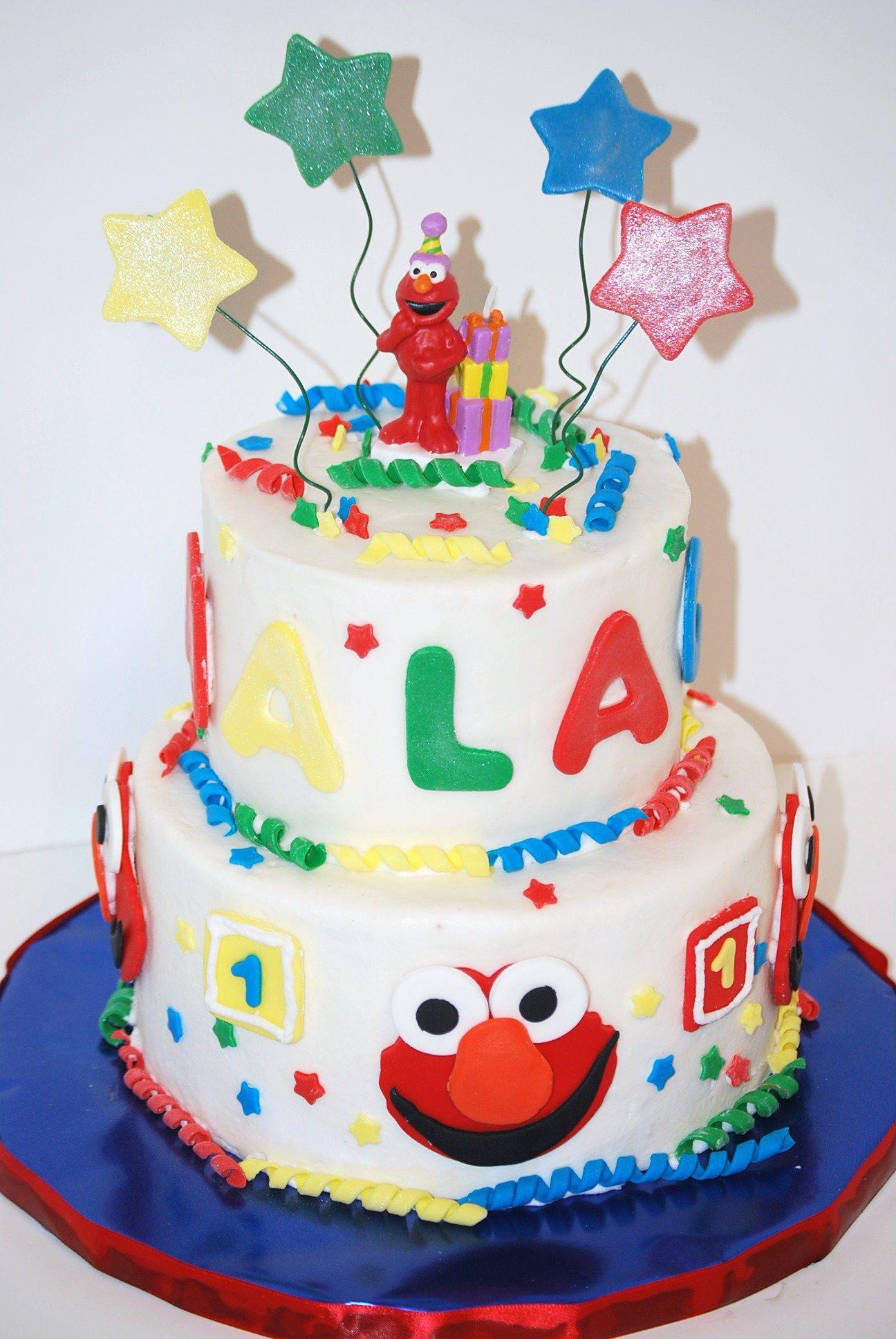 Elmo Cake Cake designs by cakes & desserts cafe ...