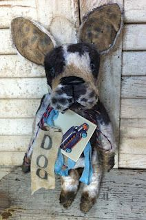 """My new 10"""" French Bulldog. Check out Brady Bears Studio on eBay to see new pieces every week."""
