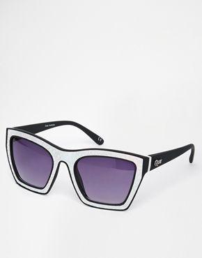 Enlarge Quay Flanders Futuristic Holographic Sunglasses
